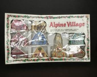 Alpine Villiage -9 Buildings