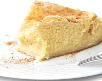 Greek Galaktobureko Pie