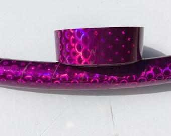 "3/4"" Fushia Peacock Hula Hoop Tape"