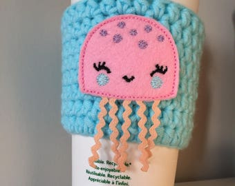 Jellyfish Cup Cozy