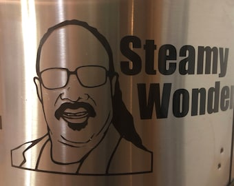 Instant pot decal, Steamy wonder, Stevie Wonder Instant pot decal, crock pot decal, funny decal