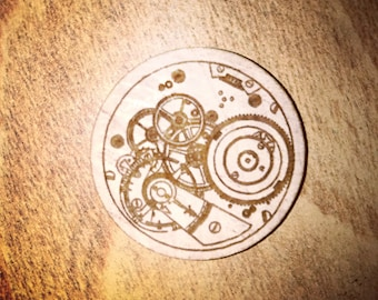 Steampunk Gear Magnet