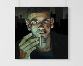 Frank Castle - Punisher - original art print