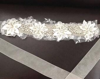 Bridal sash or wedding belt