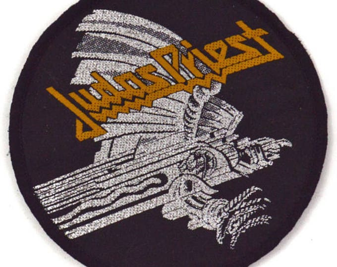 Vintage 80s Judas Priest Screaming for Vengeance Patch