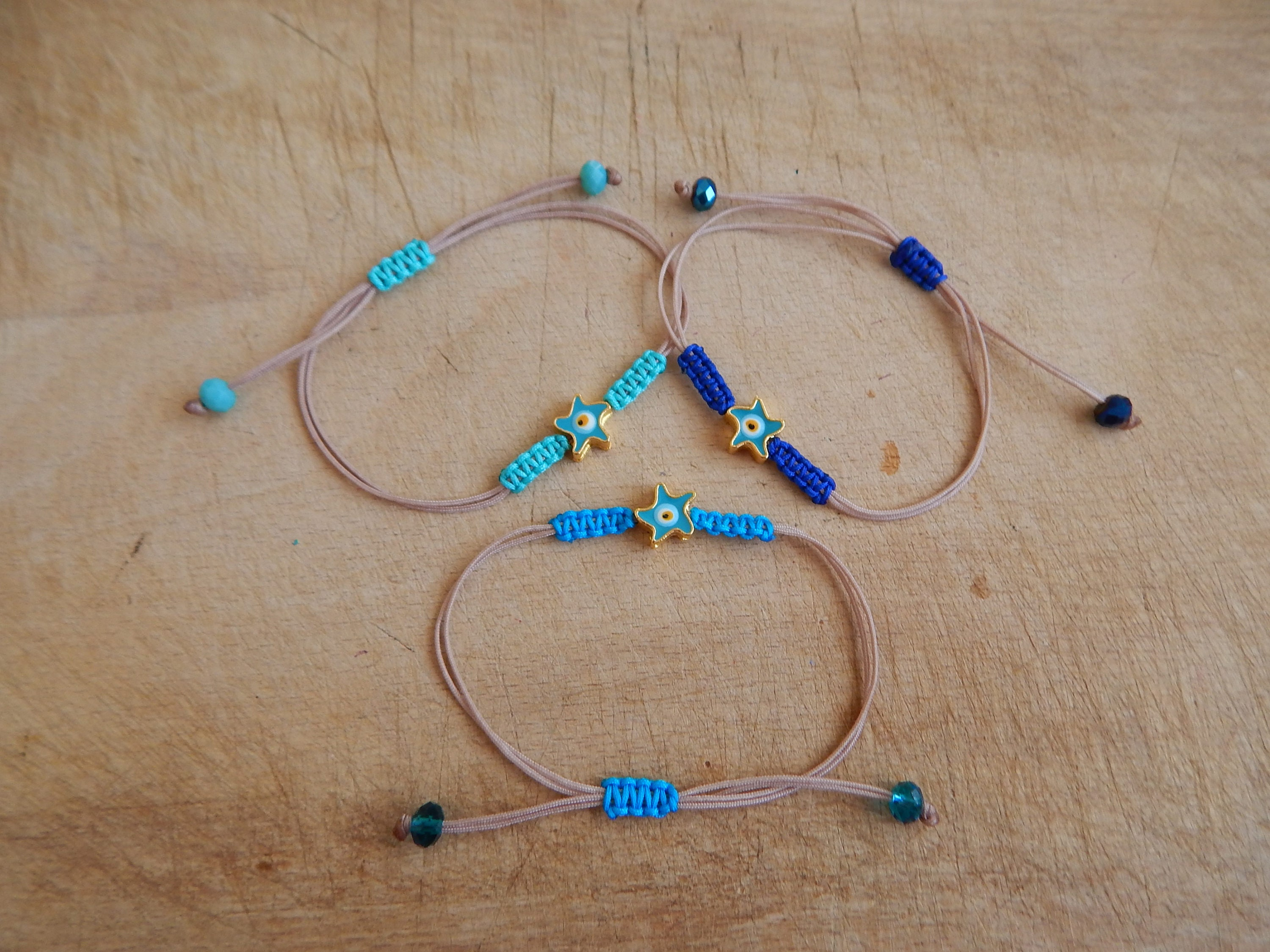 bohemian tigers luck beaded stretchy women fullxfull turquoise her boho for good bracelet listing silver eye il gifts