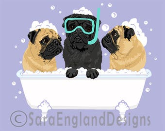 Spa Day - Pug-Mix
