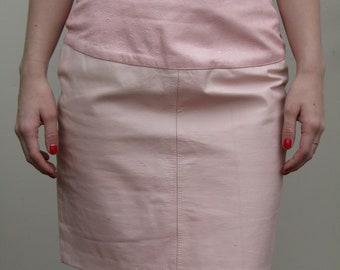Lillie Rubin - Pale pink skirt