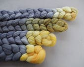 Eclipse 2017 - Pick your fiber (dyed to order) - hand dyed spinning fiber inspired by science!