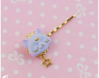 Dreamy cat Hair clip
