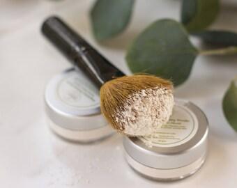 Magnesium Finishing Powder - Natural Setting Powder - Mineral Face Premer - Natural Loose Powder - Mineral veil - Matte Face Powder