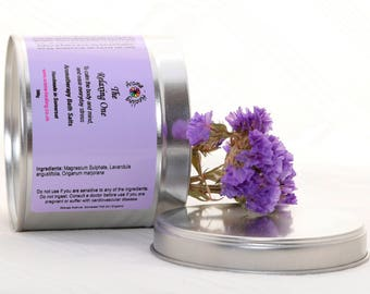 The Relaxing One Bath Salts | Epsom Bath Salts | Aromatherapy Epsom Salts | Luxury Spa Salts | Relaxing Salt Soak