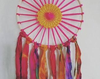 Sunset Woven Hoop Dreamcatcher