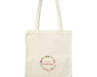 """Bag / Tote bag """"SUPER teacher"""""""