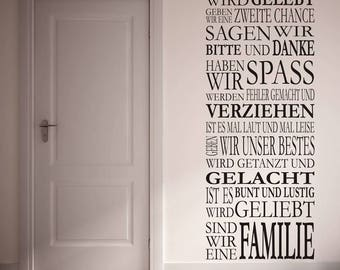Wall stickers IN this House... (3556n)
