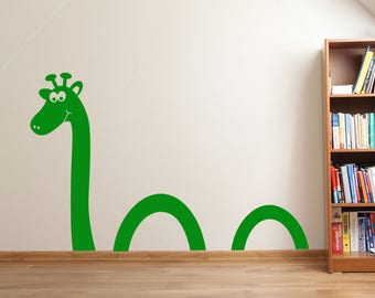 Cute Lochness Monster Wall Sticker A95