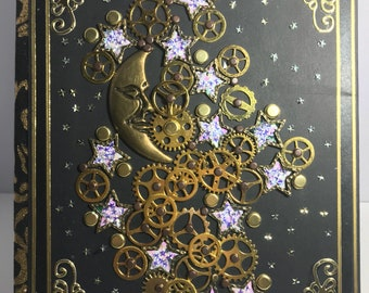 Starry Moon Steampunk Journal