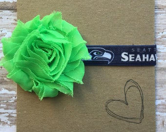 Seattle Seahawks Headband, Baby Headband, NFL, Football, 12th Man