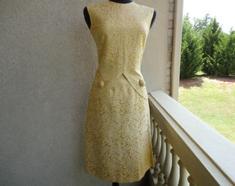 Gold Brocade 2 Piece Suit By Mascot