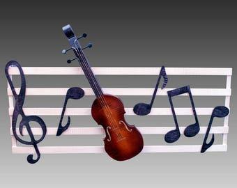 Musical Wall Hanging - Violin