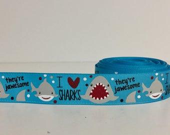 Shark Week - Ocean - Dog Collar