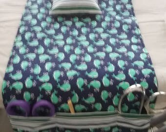 Ironing board caddy