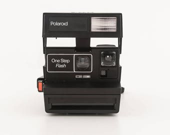 Polaroid 600 OneStep Flash Instant Camera - Tested and Working - Original Polaroid 600 Instant Camera