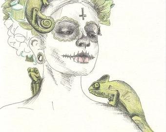 Dreaming of Spring, Ghost Girl