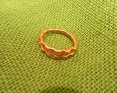 anglo saxon viking copper finger ring reenactment living history use