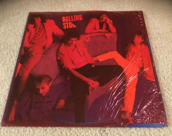 The Rolling Stones Dirty work  Vinyl Record LP album in Red shrink
