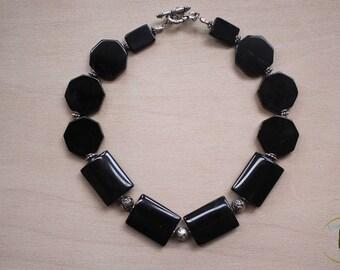 Black Obsidian Necklace.
