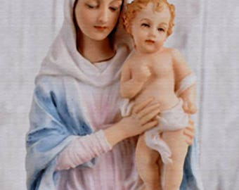 Virgin Mary and Jesus by Omega digital picture photo image