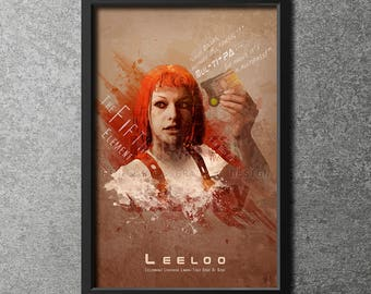 Original Giclee Art Print 'Leeloo Dallas, Multipass'
