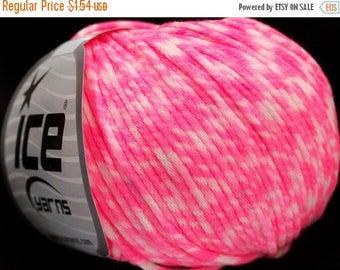 Christmas In July Ice Yarns Pink Neon Tube Yarn