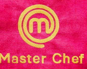 Masterchef logo machine embroidery design