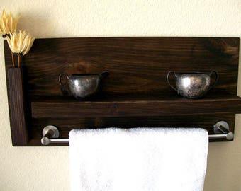 bathroom shelves towel rack bathroom shelf wall shelf wood shelf floating shelf toilet paper holder bathroom