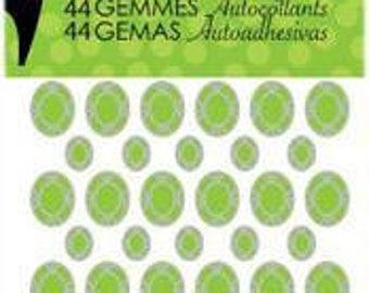 Studio G Shaped Gems - Green
