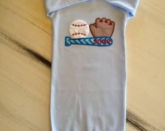 Baseball Infant Gown