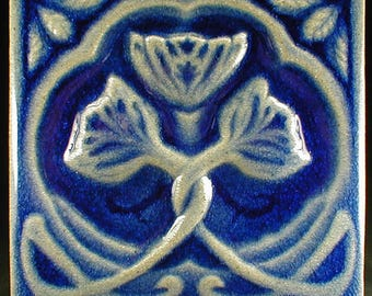 Relief tile Etsy
