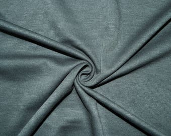 """Grey Ponte Di Roma Double Knit Polyester Spandex Lycra Stretch Medium Weight Apparel Craft Fabric 58""""-60"""" Wide By The Yard"""