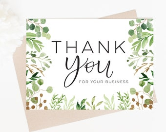 Thank you Cards Printable, Thank you Card Digital Download, Thank you Certificate Template, Thank you Cards Business, Photographer Forms