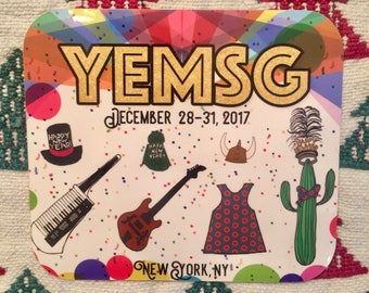 YEMSG Phish New Years Run Sticker