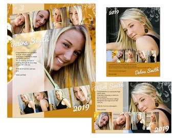 Yearbook Ads Templates - Debra