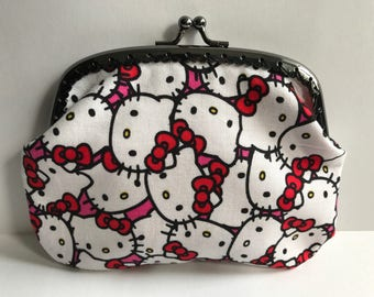Large Hello Kitty Coin Purse