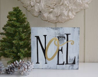 Noel Sign, Christmas Decor, Christmas Sign, Christmas Wall Art, Christmas decorating, Holiday Decor, Holiday Signs
