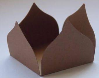 48 Truffle holder, forminhas p/ brigadeiro, candy holder, mini treat holder, they measure 1.5 x 1.5 inches