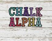 Chalk! Alpha