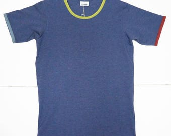 tshirt in organic cotton with short sleeves