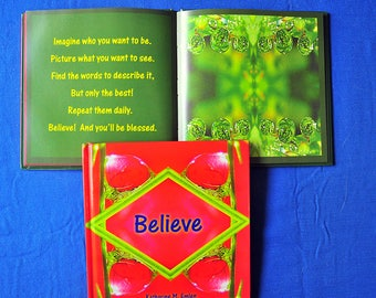 Believe, Affirmations for Kids, Kids Empowerment, Gift Book, Stand up to Bullies, Confidence for Kids, Believe in Yourself, Book for Soul