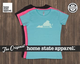 Virginia Home. T-shirt- Women's Relaxed Fit